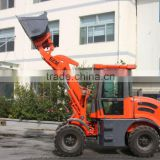 snow blower wheel loader zl-12 mini articulated loader with Euro3 engine hydraulic joystick for export