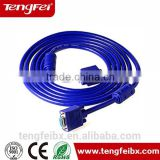 Manufacture direct price VGA cable VGA Monitor Cable hdb15p vga cable for computer with competitive price for samsung tv