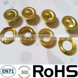 brass teeth decorative grommets eyelets