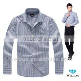 Button down collar long sleeve latest brand design trendy slim fit 100% cotton fancy business dress fashion men oxford shirt