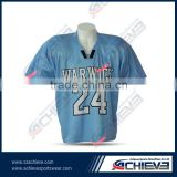 plus size club wear sublimated flag football jersey