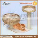 Customized promotional paradise banana-leaf cat tree