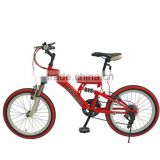Children's Bicycles 20-Inch V-Brake 12 Shift Car The New Full-Suspension Mountain Bike For Children Sell Like Hot Cakes!