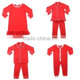 2016 winter children clothes holiday red kids pajamas baby wear brother siester matching christmas family pajamas