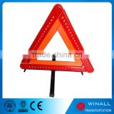 New product led flashing light protective warning triangle Emergency kits traffic signs triangle