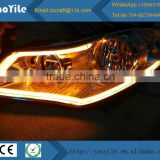 Motor parts accessories flexible led car neon light tear strip led daytime running light for car bus truck