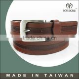 2015 Casual overalls leather belt buyers for mans trouser