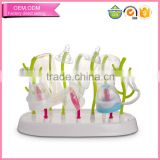Factory Price Baby Item food grade plastic bottle holder drying rack