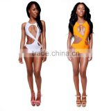 Hot Retro One piece Women Lady sexy Bikini Monokini Bandage swimsuit swimwear