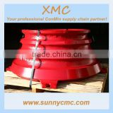 metso concave and mantle cone crusher spare parts