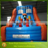 2016 hot kids inflatable basketball shooting
