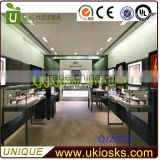 modern interior design ideas jewellery shop/store,glass jewelry display kiosk/showcase/stand