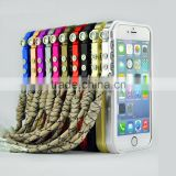 Metal Mechanical arm Alloy Frame cover Trigger bumper phone case for iphone 4 4s 5 5s 6 6s plus