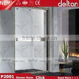 good quality toilet sex shower room / cabin price / enclosure cubicle / tempered glass door / prefab bathroom