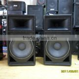 "20 inch speakers is optional DJ speaker with 18"" inch woofer"