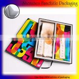 customized logo printing elegant scarves paper packaging box hot sale with the best price