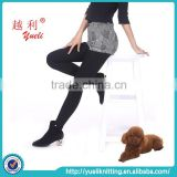 Winter lady super warm women leggings tube pantyhose tights sexy black nylon stockings