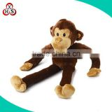 2015 wholesale long arms and legs monkey plush toy