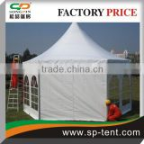 Carnival waterproof hexagon pagoda wedding tents 5x10m for outdoor event