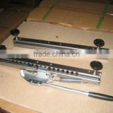 Double rail full extension ball bearing drawer slide