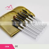 Pro Eyebrow Brow Shadow Powder Eyeliner Angle Eye Makeup Brush Set