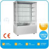 2017 Best Selling Bakery Refrigerated Cake Display Cases, 2-8 'C, 760 L, 5 Shelf, TT-MD123B