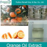 Farwell high quality pure natural Orange oil in food additives 8028-48-6,sweet orange peel extract
