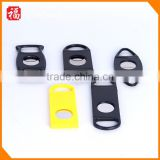 Cheaper Wholesale Handle Portable Tool Double Blade Pocket Size Knife Plastic cigar cutter