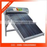 Heat pipe water solar heater, pressured solar water heater, solar powered portable heater