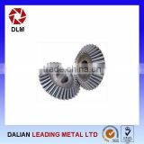 professional customized straight bevel gear set for industrial machinery