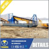 Cheap gold bucket dredger, China Small Gold Dredger for sale, high quality dredger