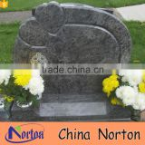 Beautiful design cheap granite heart shaped tombstone NTGT-440A