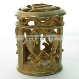 high quality oil lamp crown cap small dolphin pattern metal cover outer cap for aroma burner