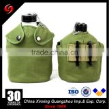 Portable 1L Military Army Aluminum Water Bottle Canteen with Storage Bag and Aluminum Mess Tin
