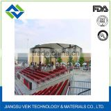 Teflon glass tensile fabric structure membrane