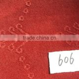 100% polyester nonwoven single velour jacquard loom carpet