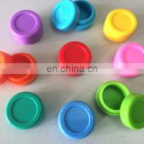 Assorted Colors Food Grade oil Silicone Containers Wax Container Set