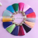 Mixed Silky Fringe Decorative Tassels New Multifunctional Accessories For Jewelry Garment Curtain Diy Craft