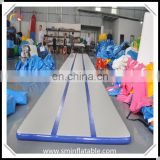Durable inflatable air track, sport gymnastic equipment, indoor air tumble track for sale from china supplier
