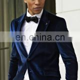 New Men Designer OCC EHS Wedding Groom Tuxedo Dinner Velvet Coat Jackets Blazers
