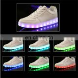 Night event popular customized led light rechargable reflective shoes