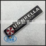 Umbrella Corporation Aluminum Car Emblem Badge with Strong Self-adhesive Sticker