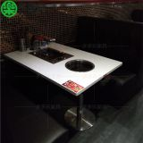 Roast table, chair, hot pot barbecue, Korean style, smoke-free and self-help barbecue table