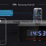 Best bluetooth alarm clock speaker with led display