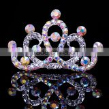 wedding tiara FZZ-253 wholesale Rhinestone color