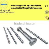 Full Covering 55/110mm Twin Conical Screw&Barrel/Cylinder for Plastic Extruder Machine