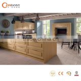 Hot sale open style misture-proof board kitchen cabinet,foshan candany kitchen cabinet co