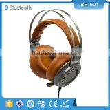Superior quality factory wholesale super bass wireless portable micro smart headphones with bluetooth