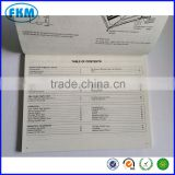 Custom made tractor operation manual made in China