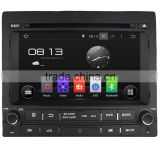 Android 4.4 single din car dvd player for Peugeot 405 with SWC Mirror link IPOD GPS